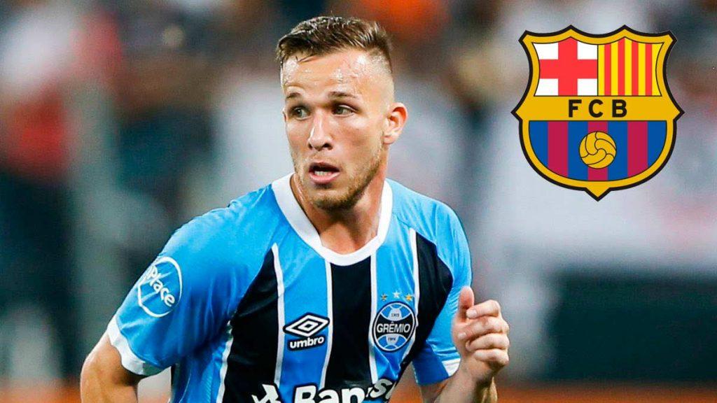 Barcelona cierra el fichaje de Arthur