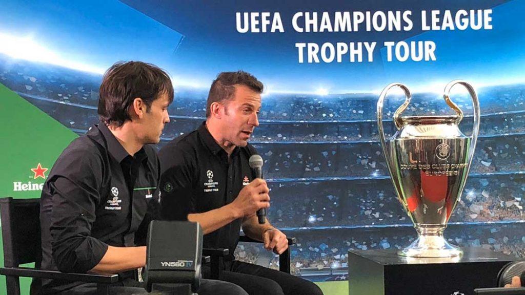 La Champions League llegó a Angelópolis