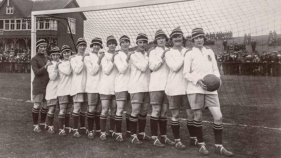 Las mujeres y sus primeras conquistas futbolísticas