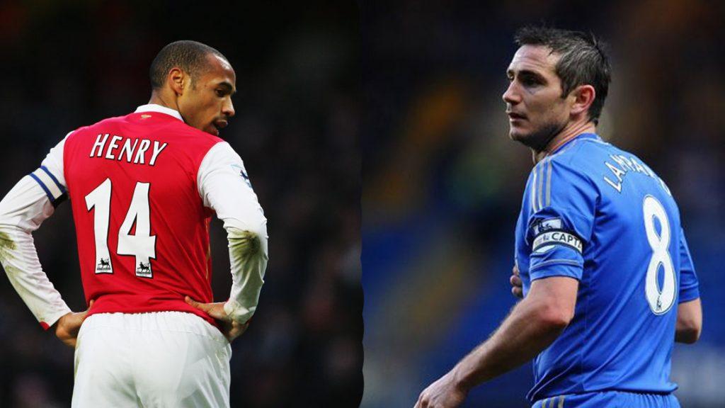 Henry y Lampard se perfila para DTs de Premier League