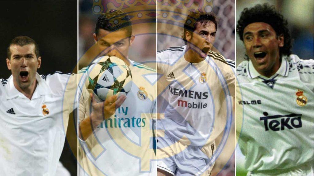 Las estrellas que han brillado en el Real Madrid
