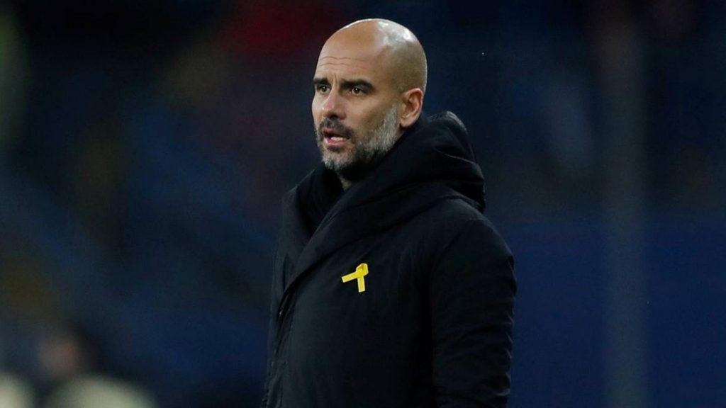 Pep Guardiola se lleva fuerte sanción por lazo amarillo