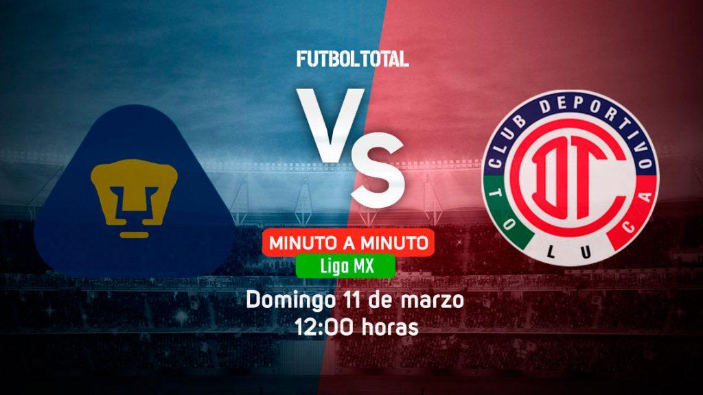 Pumas UNAM vs Toluca | Clausura 2018 | EN VIVO: Minuto a minuto