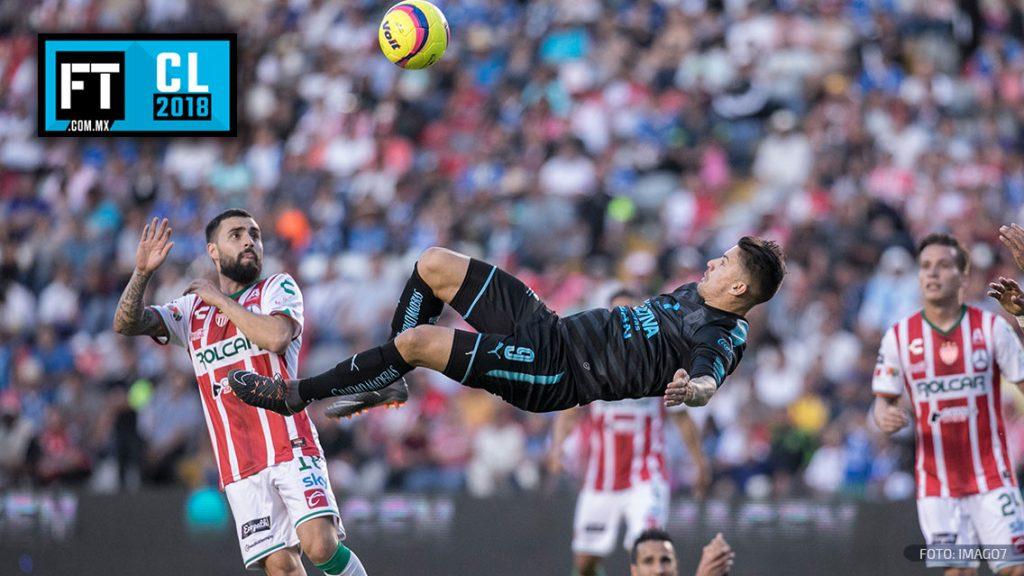 Con un golazo de chilena, Querétaro empata ante Necaxa
