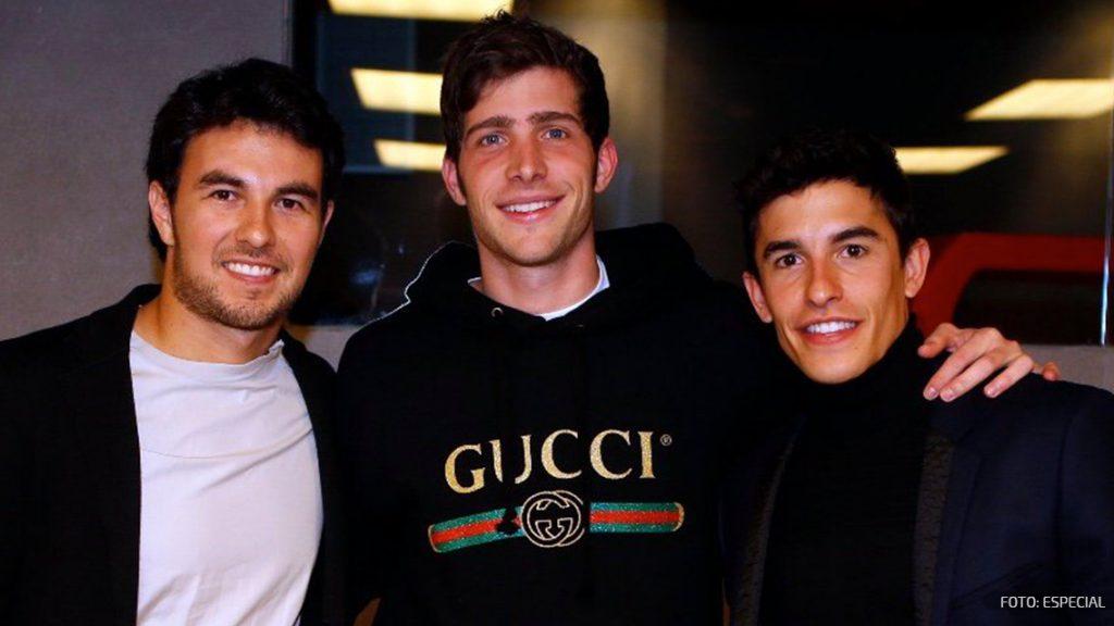 Checo Pérez presumió fotos con sus amigos del FC Barcelona
