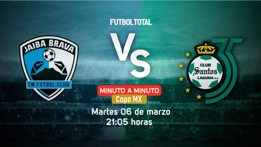 Tampico Madero vs Santos | Copa MX | EN VIVO: Minuto a minuto