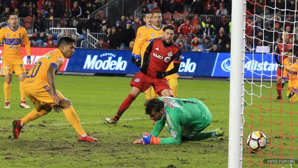 De último minuto, Toronto derrotó a Tigres en la ida de Concachampions